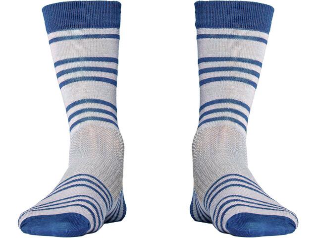 Röjk Everyday Merino Socks berry blue stripe